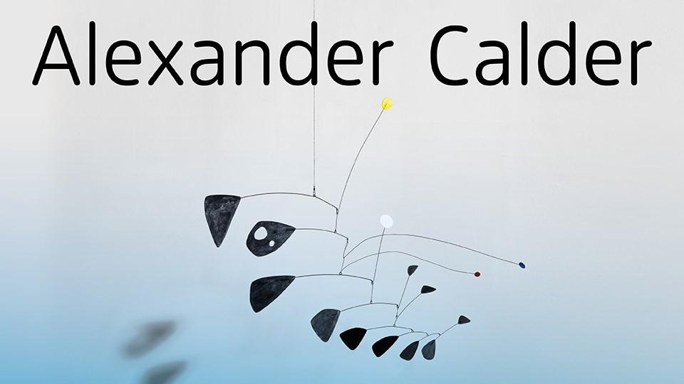 Red and Blue Dots by Alexander Calder