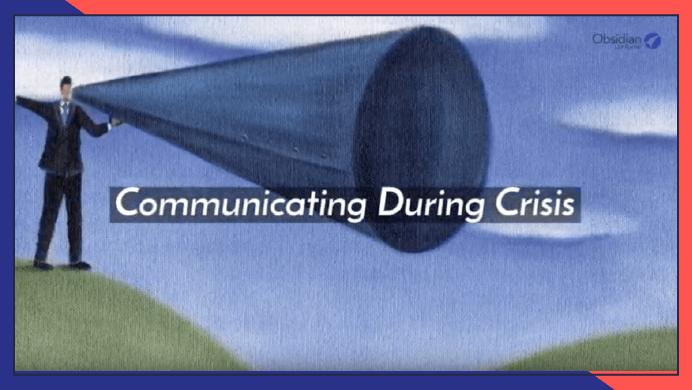 Communicating During Crisis
