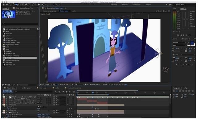 After Effects screenshot