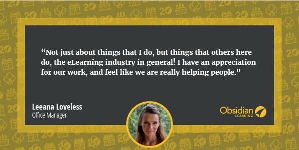 Leeana Loveless quote