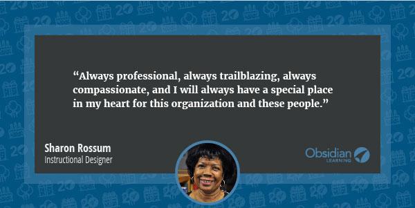 Sharon Rossum quote