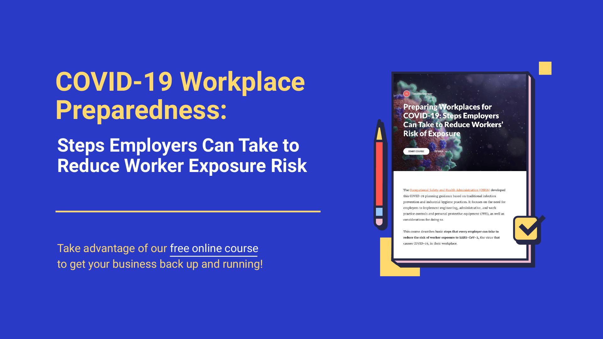 COVID-19 Workplace Preparedness Course