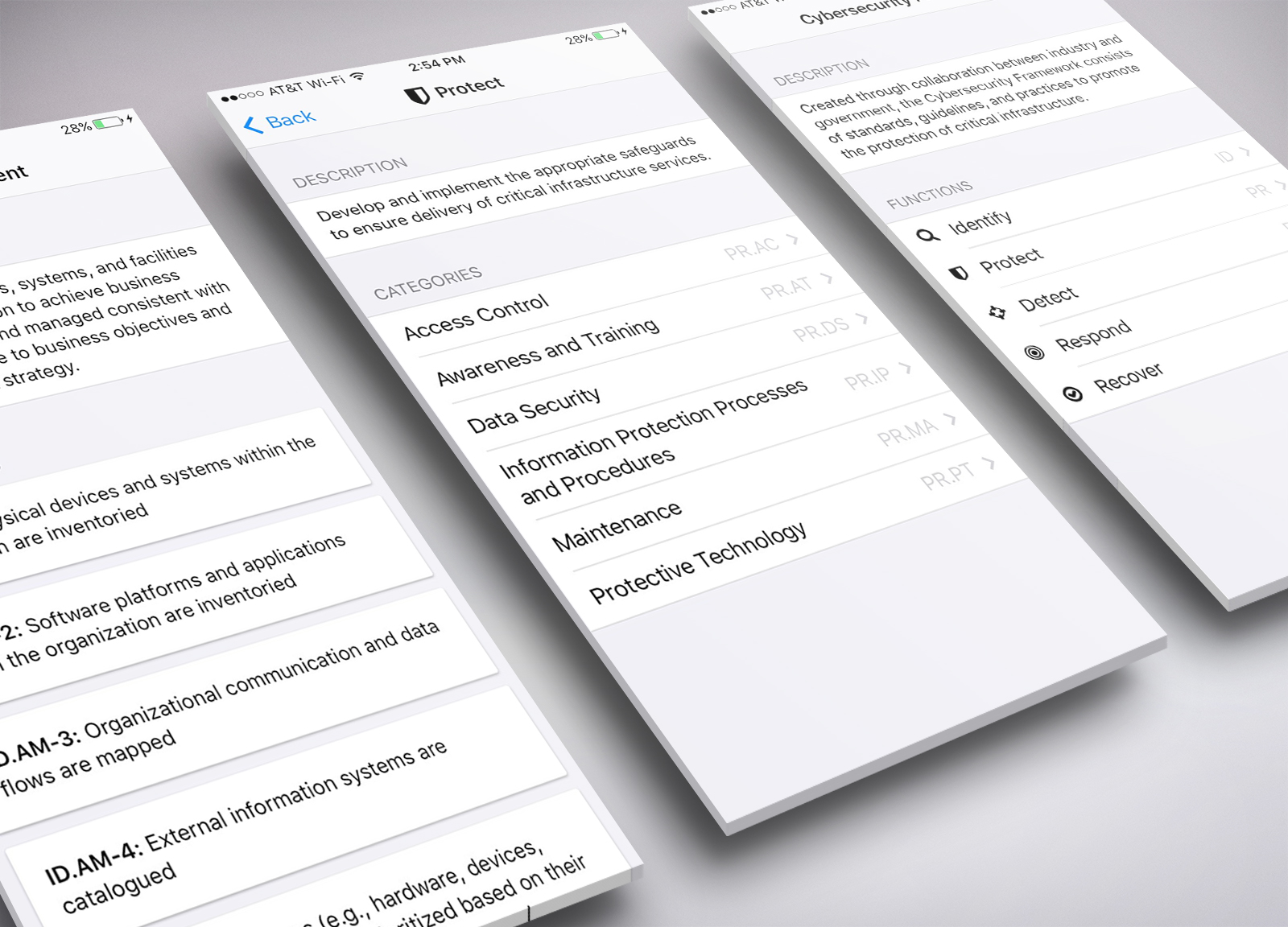 Cybersecurity Audit Checklist mobile app