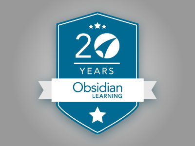 Obsidian Learning's 20th Anniversary